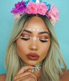 #Festival #Coachella #Makeup Vibez @thefashionfreakk Be Inspirational ❥ Mz. Manerz: Being well dressed is a beautiful form of confidence, happiness & politeness