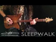 "How to Play ""Sleepwalk"" on the 3-String Guitar! Guitar TABs Included! 