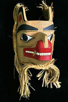 Inuit Wolf Mask. Reg Davidson. http://inuit.com/sample.htm