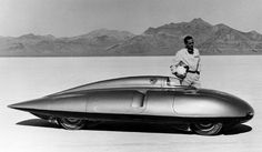 The MG EX181 driven by renowned racing driver Stirling Moss -  Dark Roasted Blend: Land Speed Record Vehicles, Part One: The Pioneers