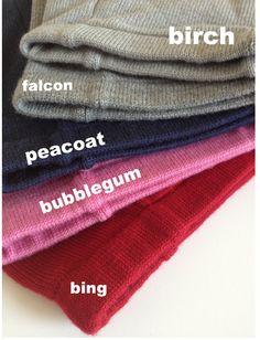 sloomb - Sloomb Underwoolies - Bubblegum. One each for baby girl, please!!