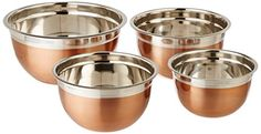 ExcelSteel Copper Tone Stainless Steel Mixing Bowls (Set of 4) ExcelSteel http://www.amazon.com/dp/B0119S7FH2/ref=cm_sw_r_pi_dp_OFGzwb15SQR05