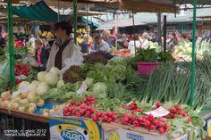 Market in Vojvodina, Serbia