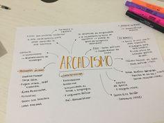 Resumo de Literatura: Arcadismo.  #Arcadismo #Literatura #ENEM