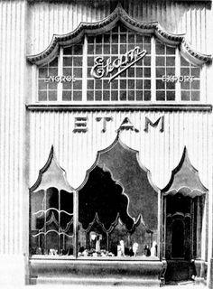 Strumpfhaus Etam Friedrichstraße 176 1921 Paul Zucker.