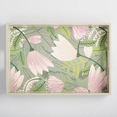 One of my favorite discoveries at WorldMarket.com: Gigi Floral Lacquer Serving Tray