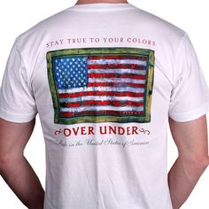 Stay True to Your Colors Penley Tee in White by Over Under Clothing