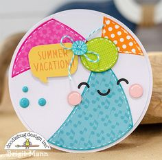 "Brigit's Scraps ""Where Scraps Become Treasures"": Sweet Summer Shaped Cards - Doodlebug Design Team Project Beach Scrapbook Layouts, Scrapbook Cards, Scrapbooking, Diy Gifts For Friends, Creative Gift Wrapping, Shaped Cards, Fancy Fold Cards, Cricut Cards, Beautiful Handmade Cards"