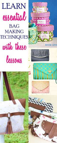 how to sew bags | bag sewing patterns | purse patterns | tote sewing patterns