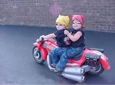 Midget bikers