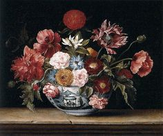 """Jacques Linard """"Chinese Bowl with Flowers"""" 1640 by Art & Vintage, via Flickr"""