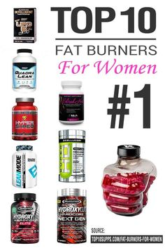Source: http://top10supplements.com/best-fat-burner-for-women/  These are the top 10 fat burners that will help ladies shed excess weight and meet their fitness goals.