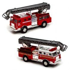 Diecast Toy Fire Truck Engine