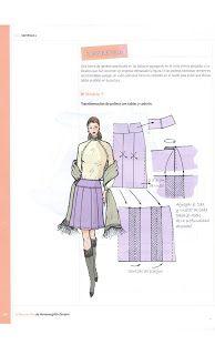 Costura,Patrones y mucho mas: Libro de Oro Hermenegildo Blouse Patterns, Clothing Patterns, Sewing Patterns, Skirt Patterns, Dress Making Patterns, Pattern Making, Sewing Clothes, Doll Clothes, Sewing Tutorials