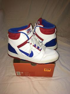 official photos 66f6d 3c7d5 Nike Air Force 2 high USA vintage 2002 size 12 624006 142 SB one dunk  trainer