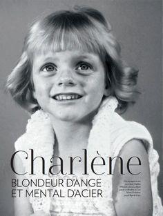 gabriellademonaco: Princess Charlene of Monaco, 3 years old...