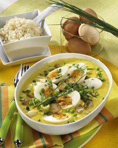 Unser beliebtes Rezept für Eier in Gemüse-Curry und mehr als 55.000 weitere kostenlose Rezepte auf LECKER.de.