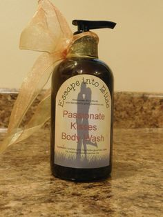 All Natural Body-wash, Body-wash, Hand-made by EscapeIntoBliss on Etsy