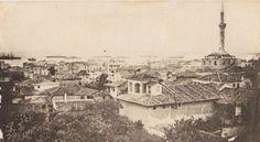 Πρίν την πυρκαγιά του 1917, με κατεύθυνση Ι.Ν.Αγίας Σοφίας - θάλασσα....