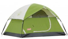 Coleman Sundome 4 Person Tent Green Camping Outdoor Hiking Shelter Canopy for sale online