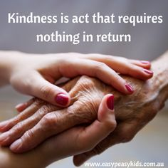 Kindness a way of living