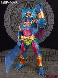 Mer-Mar custom action figure, MOTUC original character!