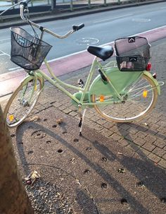 bicyclette - pastel - vert - l'été - la vie - vintage - la mode - fashion - style - Allemagne - en ville - blog - blogueuse - Isa