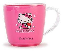 Hello Kitty pink mug