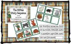 Free sequence cards for THE MITTEN