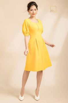 Pin by fdt head on spring summer 2019 in 2019 Formal Dresses For Teens, Modest Dresses, Simple Dresses, Casual Dresses, Short Dresses, Curvy Women Fashion, Fashion Models, Womens Fashion, Frock For Women