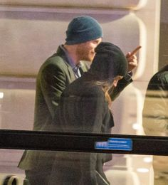 First pictures of Prince Harry and girlfriend Meghan Markle together as they enjoy romantic date in London