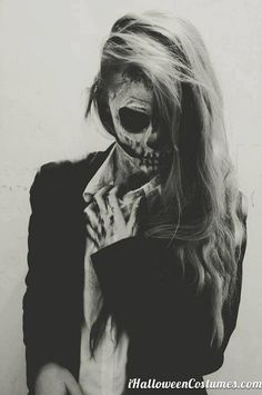 skeleton girl - Halloween Costumes 2013