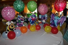 Twinkle Celso Cabanalan created these amazing table toppers! They're really creative we like the way she secured them to a base and added the balloons...this is such a clever idea to create a center display that's whimsical and sturdy! We really love these!! Created using our free printables! #GBbirthday Baby 1st Birthday, Birthday Stuff, 1st Birthday Parties, Birthday Ideas, Birthday Gifts, Big Balloons, The Balloon, Fun Songs For Kids, Chubby Cheeks
