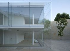 Glass Building in Spain by Alberto Campo Baeza