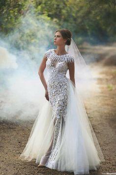 Sadek Majed Haute Couture | Dreamy 2015 | Wedding Dress, Glam, veil