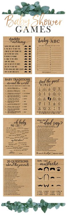 Handcrafted Baby Shower Printables by HappyBabyPrintables – – Invitation Ideas for 2020 Baby Shower Games Unique, Baby Shower Fun, Baby Shower Themes, Baby Shower Decorations, Shower Ideas, Printable Baby Shower Invitations, Baby Shower Printables, Invitation Ideas, Baby Shower Winter