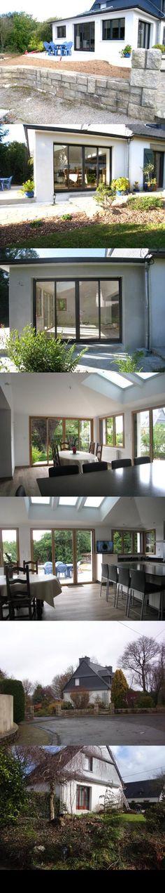 Extension d\u0027une maison en ossature bois Séné  Lieu  SénÃ