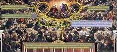 Il Paradiso - Tintoretto - PINACOTHECA Archangel Gabriel, Archangel Michael, Divine Light, Holy Spirit, Renaissance, City Photo, Scene, Art, Holy Ghost