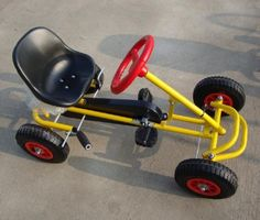 Children Pedal Go Kart - China Children Pedal Go Kart, Children Go Kart Kids Go Cart, Go Karts For Kids, Wooden Go Kart, Go Kart Frame, Diy Go Kart, Kids Bicycle, Pedal Cars, Welding Projects, Welding Tips