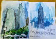 Bryant Park y el Empire State Building