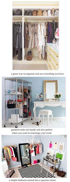 case of couture  dressing room/closet