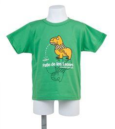 CAMISETA VERDE LEÓN (10-12 AÑOS) - Tienda librería de la Alhambra