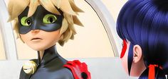 """Are you sure you're ok"" -Ladybug. Miraculous Ladybug season 2 gif"