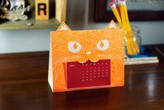 Items similar to 2013 Cat Calendar on Etsy Lego Calendar, Paint Chip Calendar, Chalkboard Calendar, Creative Calendar, Cat Calendar, Desk Calendars, Table Calendar Design, Vintage Postcards, Diy Painting