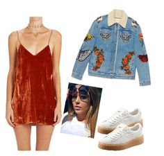 """Idk What This Is 50/50"" by icantwaitforwhatstocome ❤ liked on Polyvore featuring Gucci and Erickson Beamon"