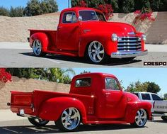 Chevy trucks aficionados are not just after the newer trucks built by Chevrolet. They are also into oldies but goodies trucks that have been magnificently preserved for long years. Bugatti, Lamborghini, Ferrari, Hot Rod Trucks, Gm Trucks, Cool Trucks, 1952 Chevy Truck, Chevrolet Trucks, Custom Pickup Trucks