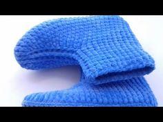 Neues Modell Panduf Making (Modell Ayse Mitgift Brust) Panduf # bot # botmodelleri - Kadife ipten panduf yapımı - Free Pins Baby Knitting Patterns, Stitch Patterns, Crochet Patterns, Odd Molly, Crochet Socks, Knit Crochet, Photo Prop, Moda Emo, Buy Dresses Online
