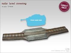 Rail - level crossing | 15mm