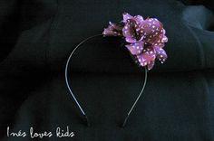 Diadema Nomeolvides de Inesloveskids.com Hoop Earrings, Blog, Crafts, Jewelry, Fashion, Head Bands, Moda, Manualidades, Jewlery