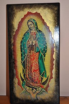 Our Lady of Guadalupe,  Catholic Icon.Unique Religious Art and Gifts for Your Special Ones